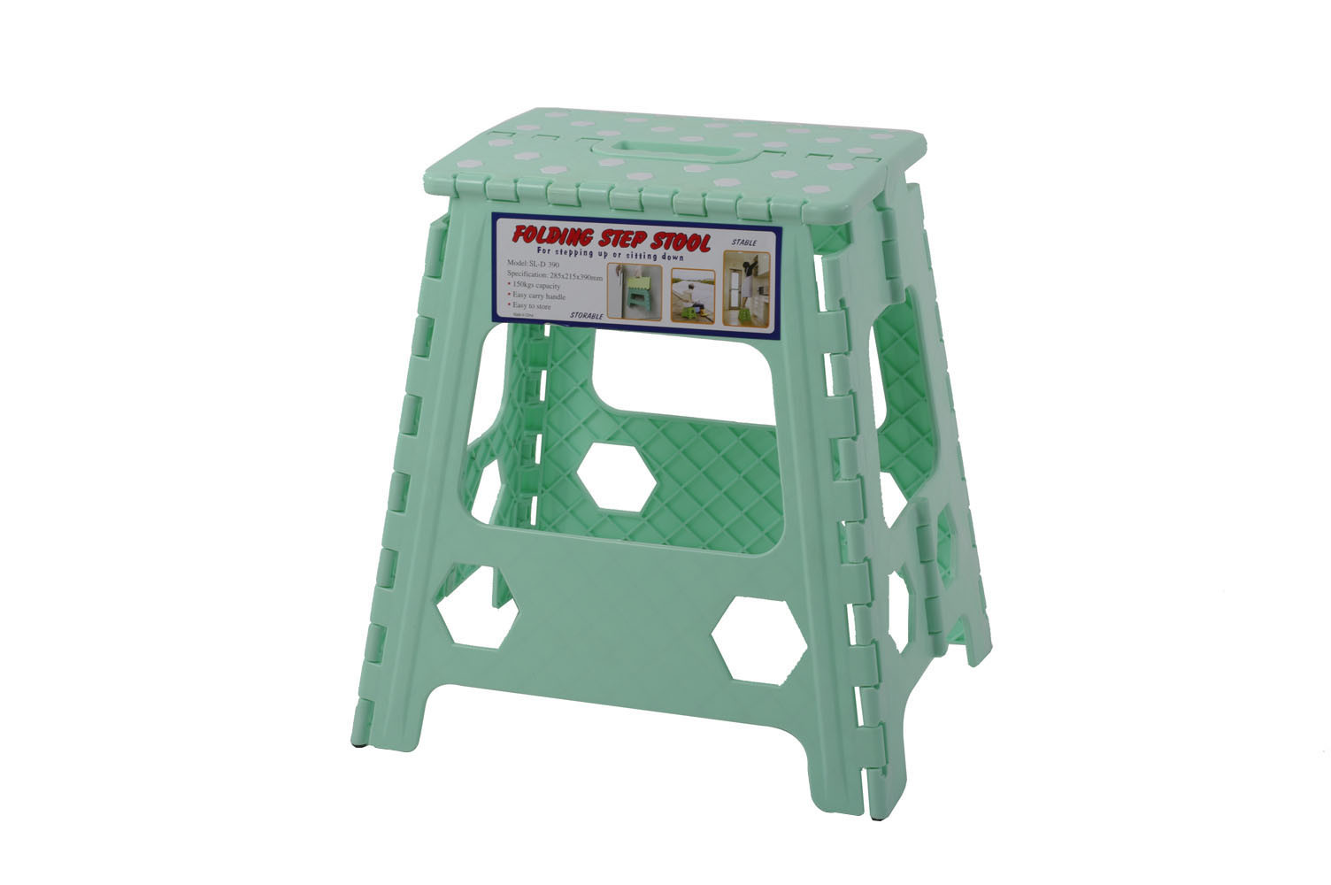 China Plastic Folding Stools Sl D390 China Plastic