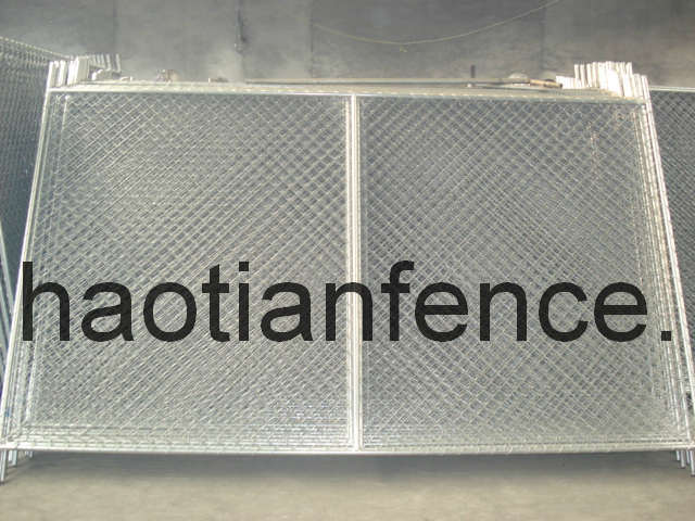 Temporary Chain Link Fence Panel, Temp Chain Link Panel pictures & photos