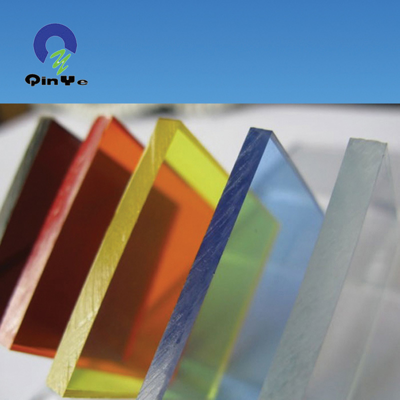 China Transparent Color Plastic PMMA Sheet for Outdoor Advertising ...