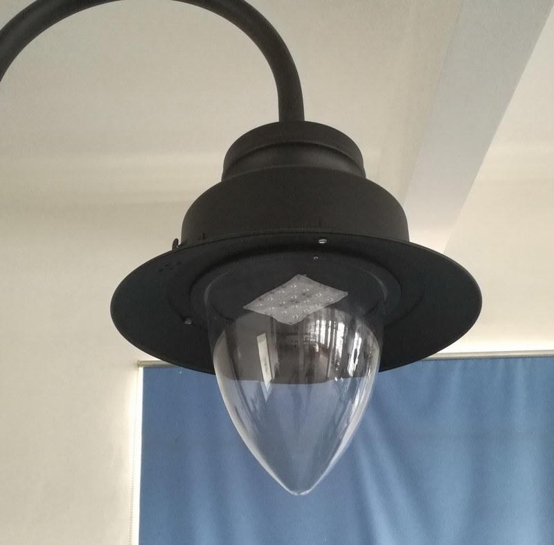 Light Post Base Outdoor Led Lamp