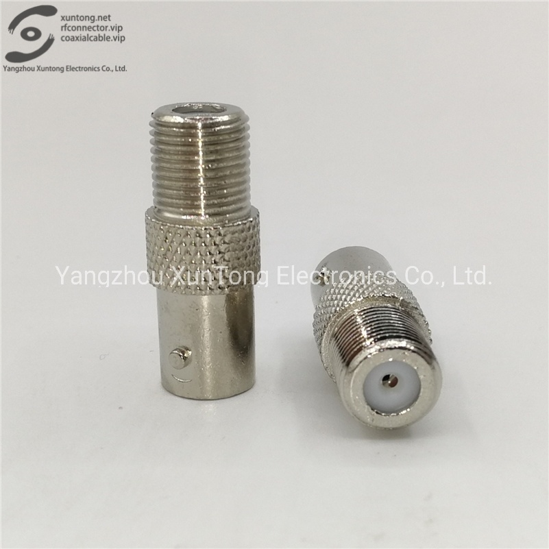 100pcs BNC Female to BNC Female Straight Coupler Connector Adapter Nickel Plated