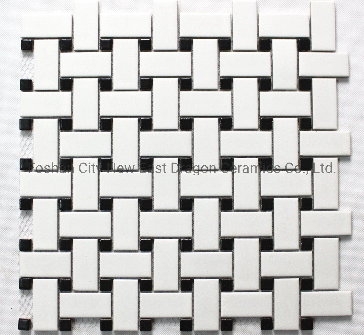 White Mosaic Tiles Bathroom Kitchen