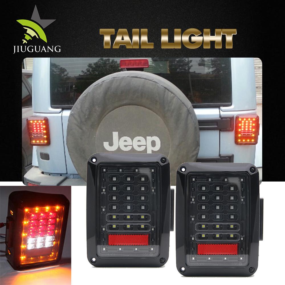 China Stop Licence Jeep Yj Tj Jk Cj Backup Reverse Wholesale Truck Wrangler Lights Trailer Led Tail