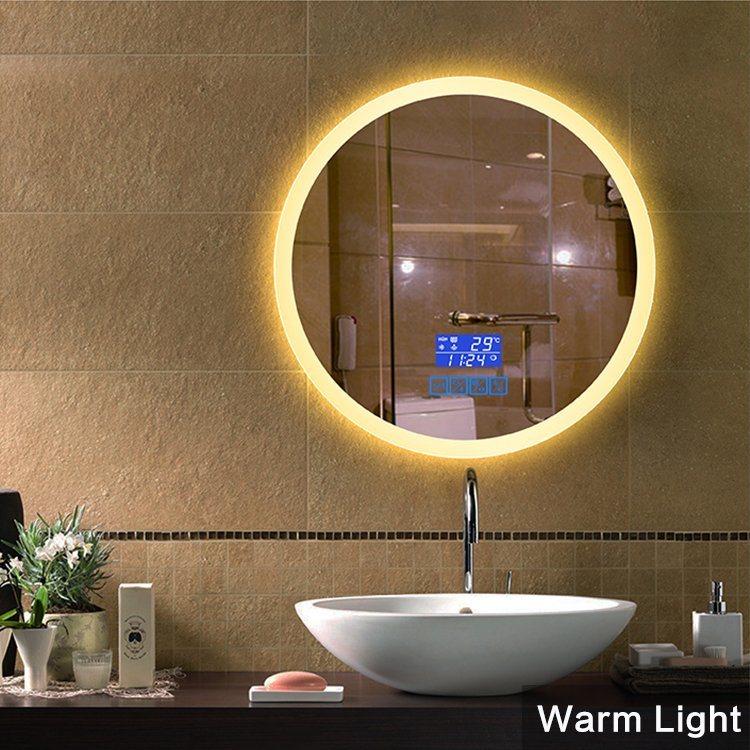 China Home Decor Salon Mirror Bathroom, Round Salon Mirrors With Lights
