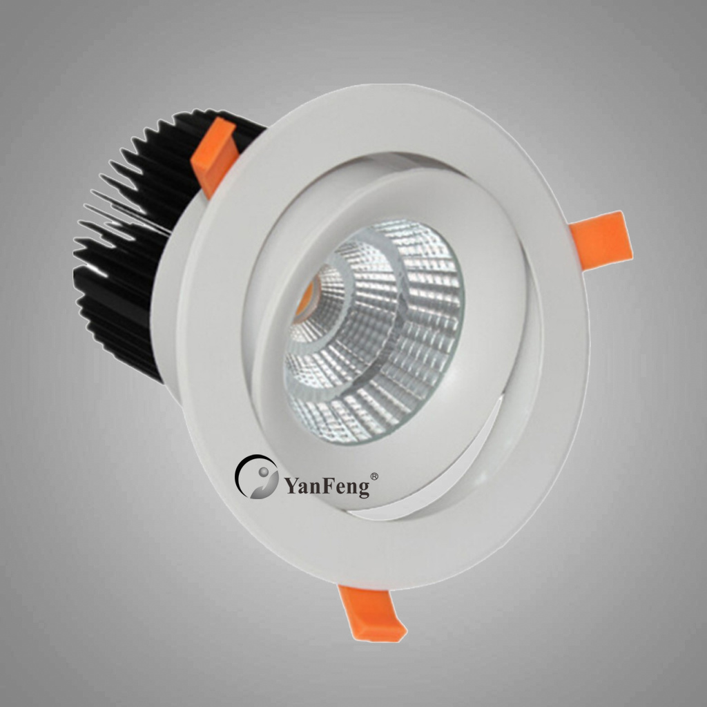 China 55w Cob Led Recessed Ceiling Lights With Cree Chips China Led Ceiling Light Ceiling Light