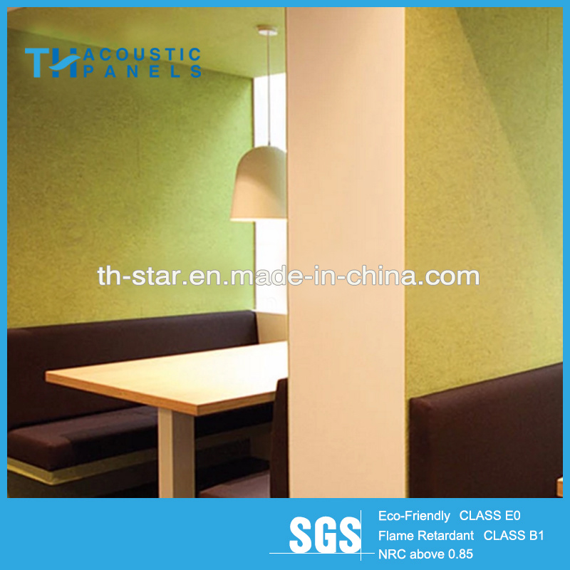 Soundproof Interior Wall Polyester Fiber Acoustic Boards