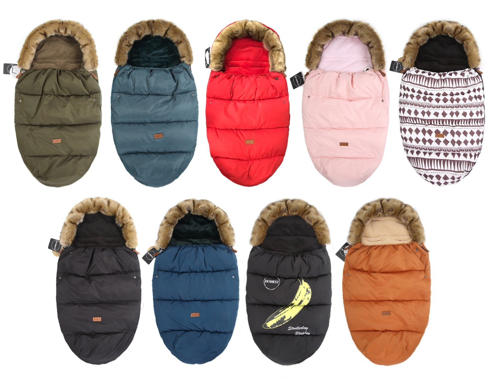 Baby Warm Travel Sleeping Bag, Double Zipper Sleeping Bag, Can Be Taken Apart pictures & photos