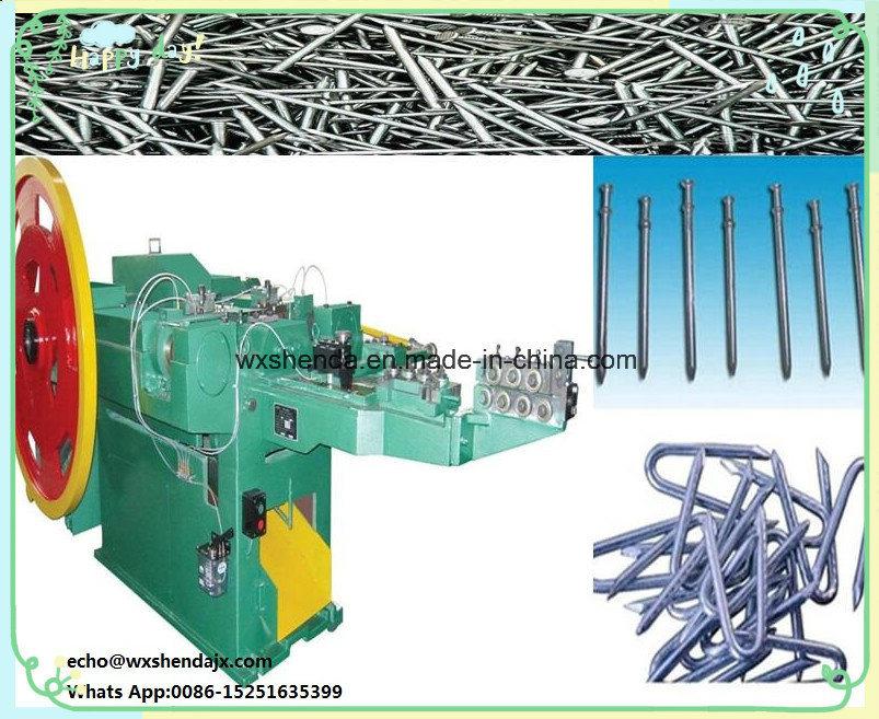 Ce Steel Automatic Nail Making Machine Price/China Iron Wire Nail ...