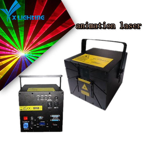 8000MW RGB Cartoon Stage Laser Light