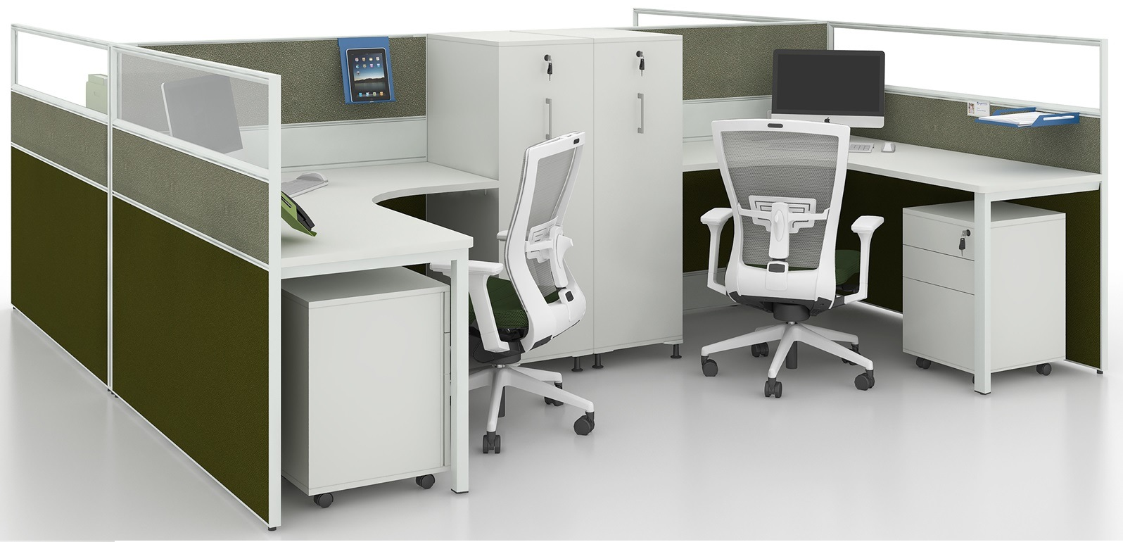 Hot Item Commercial Furniture Modern Workstation Desk Modular Office Furniture