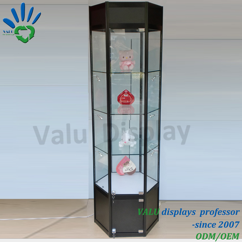 Bezaubernd Vitrine Glas Beste Wahl Cheap Modern Jewelry Aluminum Glass Display Glass