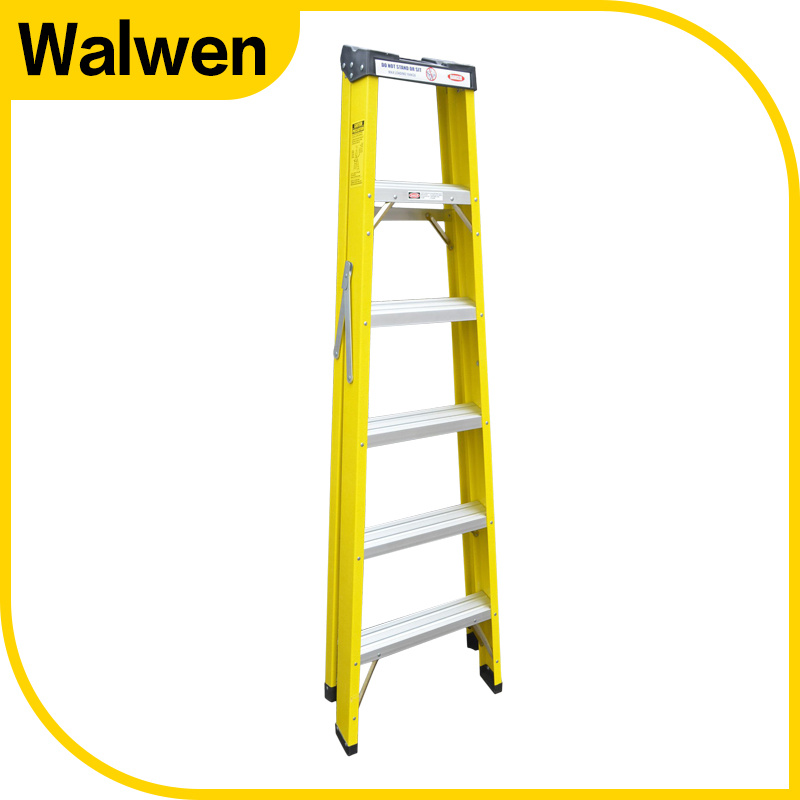 A Shape Double Side Folding Movable FRP Step Ladder pictures & photos