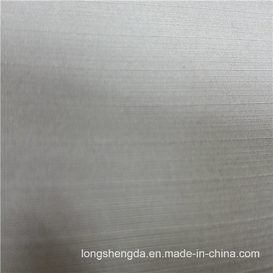 75D Water & Wind-Resistant Anti-Static Sportswear Woven Plaid Jacquard 100% Polyester Fabric (E140A)
