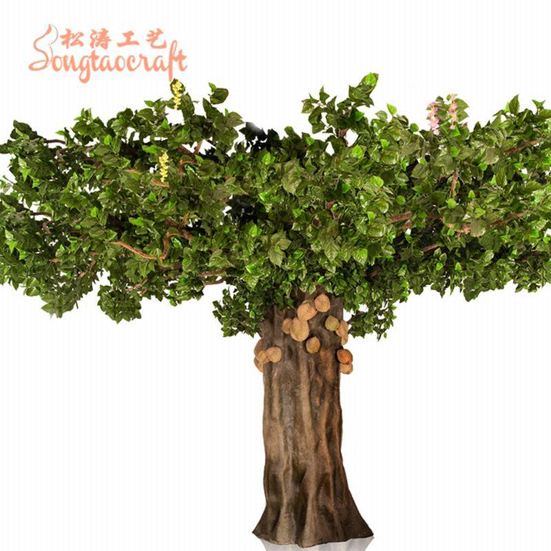 [Hot Item] Artificial Durian Tree Fake Fresh Fruit Big Tree for Hotal  Decoration