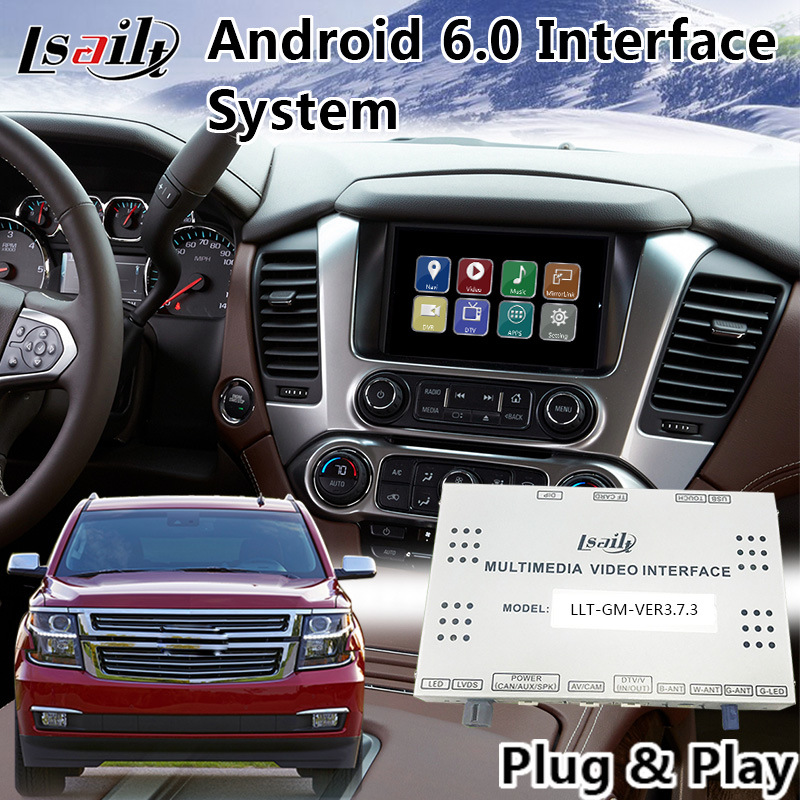 Android 6.0 Video Interface Navigation for Chevrolet Suburban Mylink System 2015-2018 Original Car Screen Upgrade pictures & photos