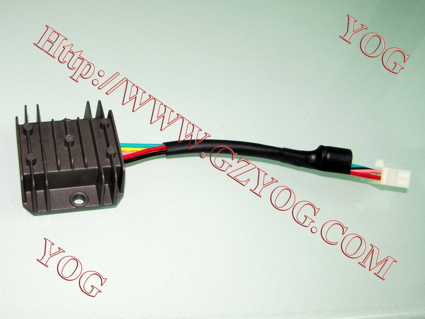 China Yog Motorcycle Accessories Regulador Auto Spare Parts Wiring Supplies Rectifier Assy Regulator For Fxd125