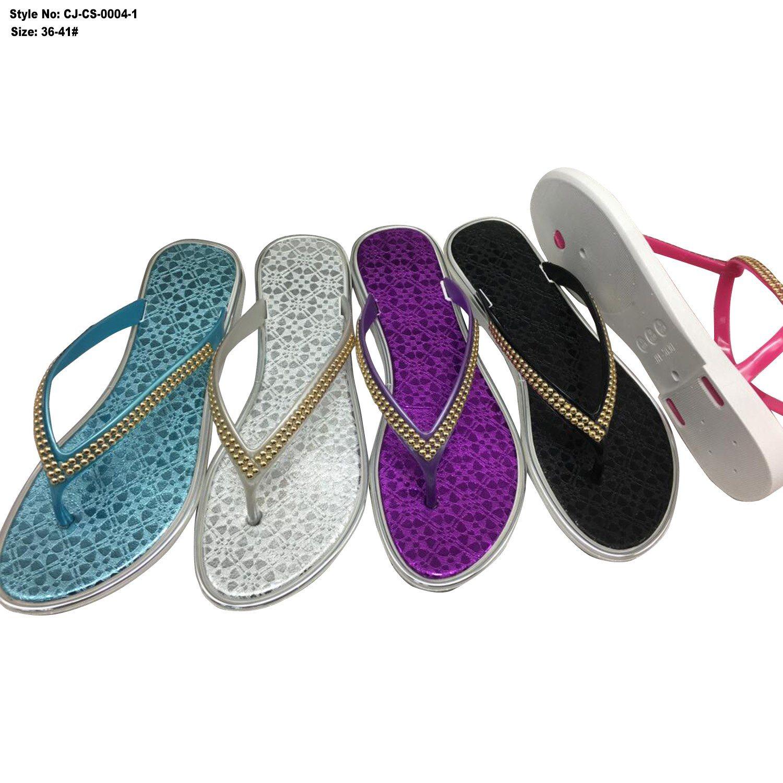 Latest Ladies Girls PVC Sandals