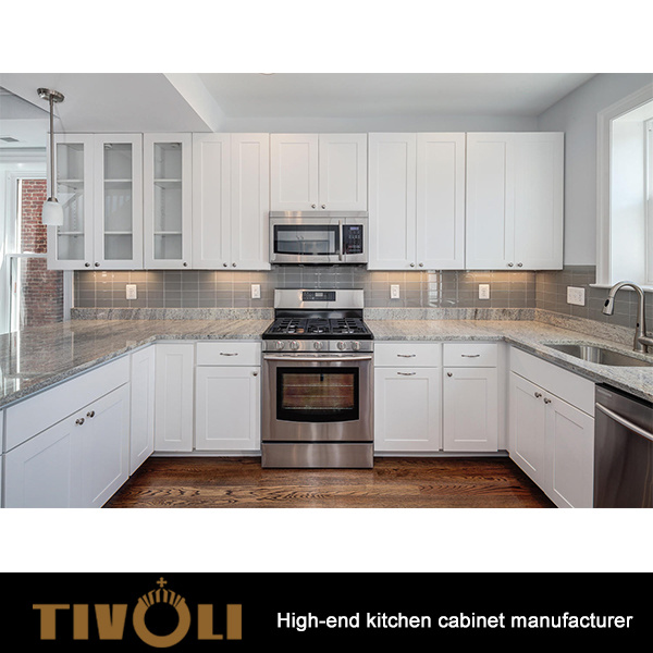 Kitchen Cabinet Set Made In China For Builders Apartment Projects Tv 0122