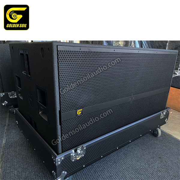 China Sound System Sub 9007-as Sub 8006-as Dual 21′′ Double