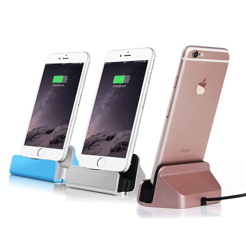 brand new 71f11 5c32f [Hot Item] Desktop Desk Cradle Base 8pin Charging Station Cradle Lightning  Dock with Charger Cable Charging Dock for iPhone 7 7plus for iPhone 6 6s ...