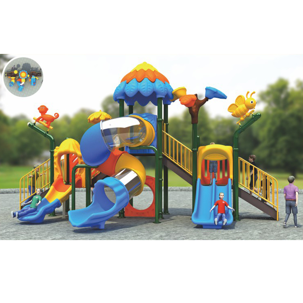 Image of: China Best Deals On Outdoor Swing Sets Small Backyard Play Structures China Outdoor Playground And Outdoor Plastic Slide Price