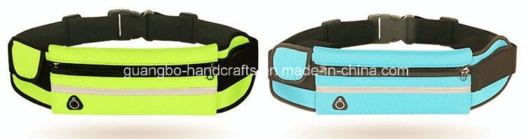 Custom Nylon Outdoor Running Sports Waist Bag pictures & photos