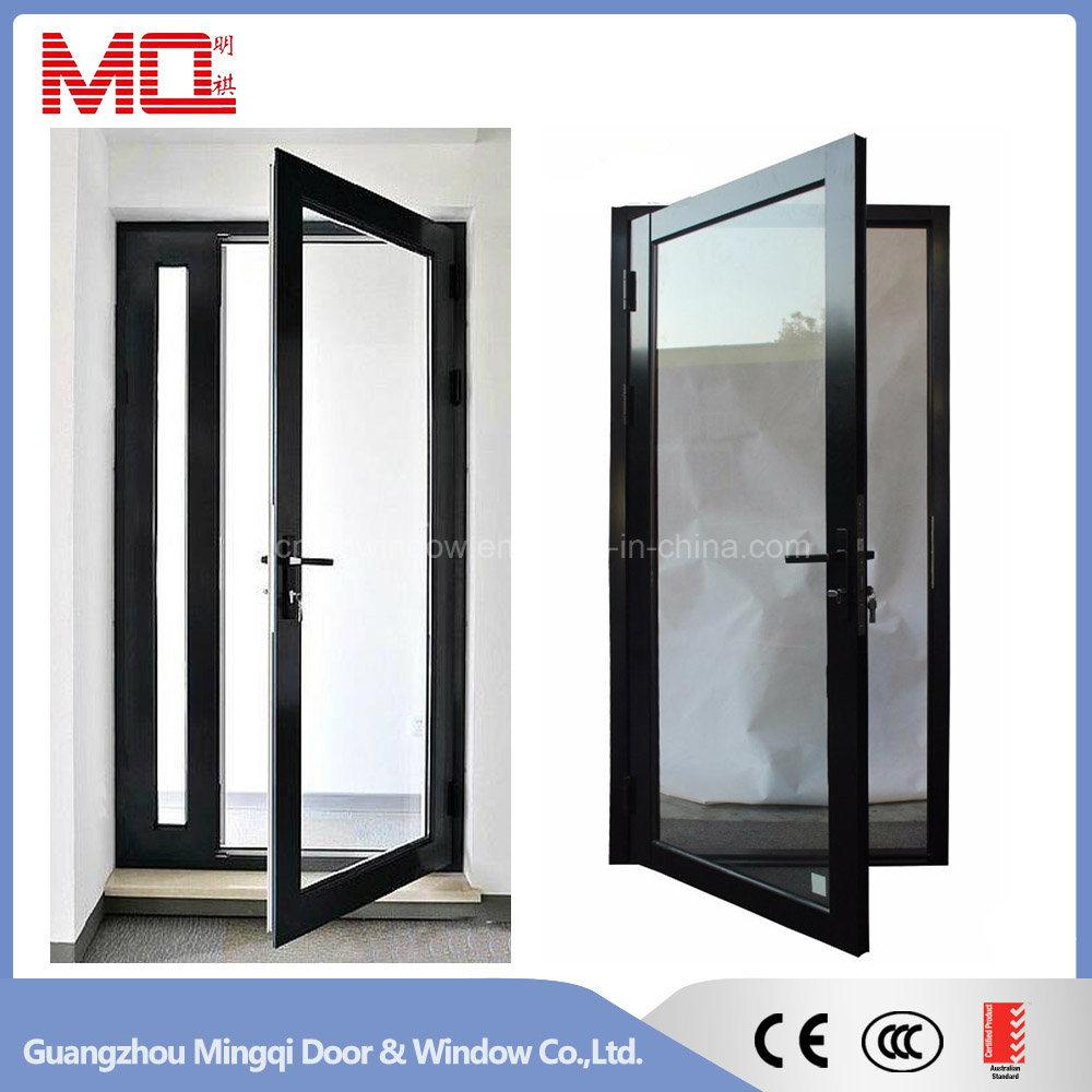 p swing oil rubbed glass pivot bronze oilrubbedbronze basco clear door deluxe with