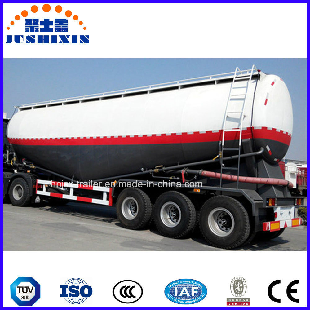 Jushixin Dry Bulk Cement Tanker Semi Trailer pictures & photos