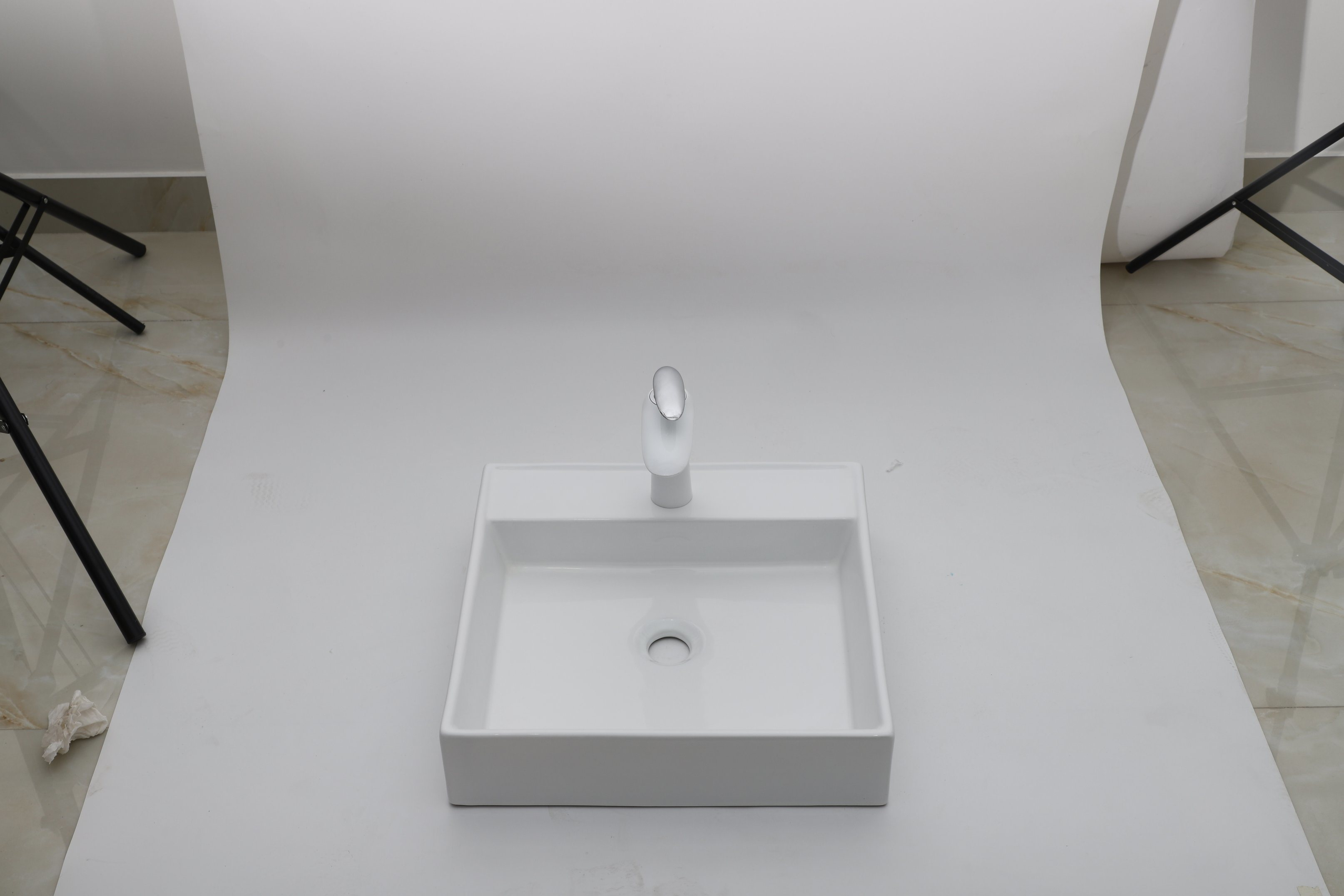 Amb1317 Hot White Bathroom Sink