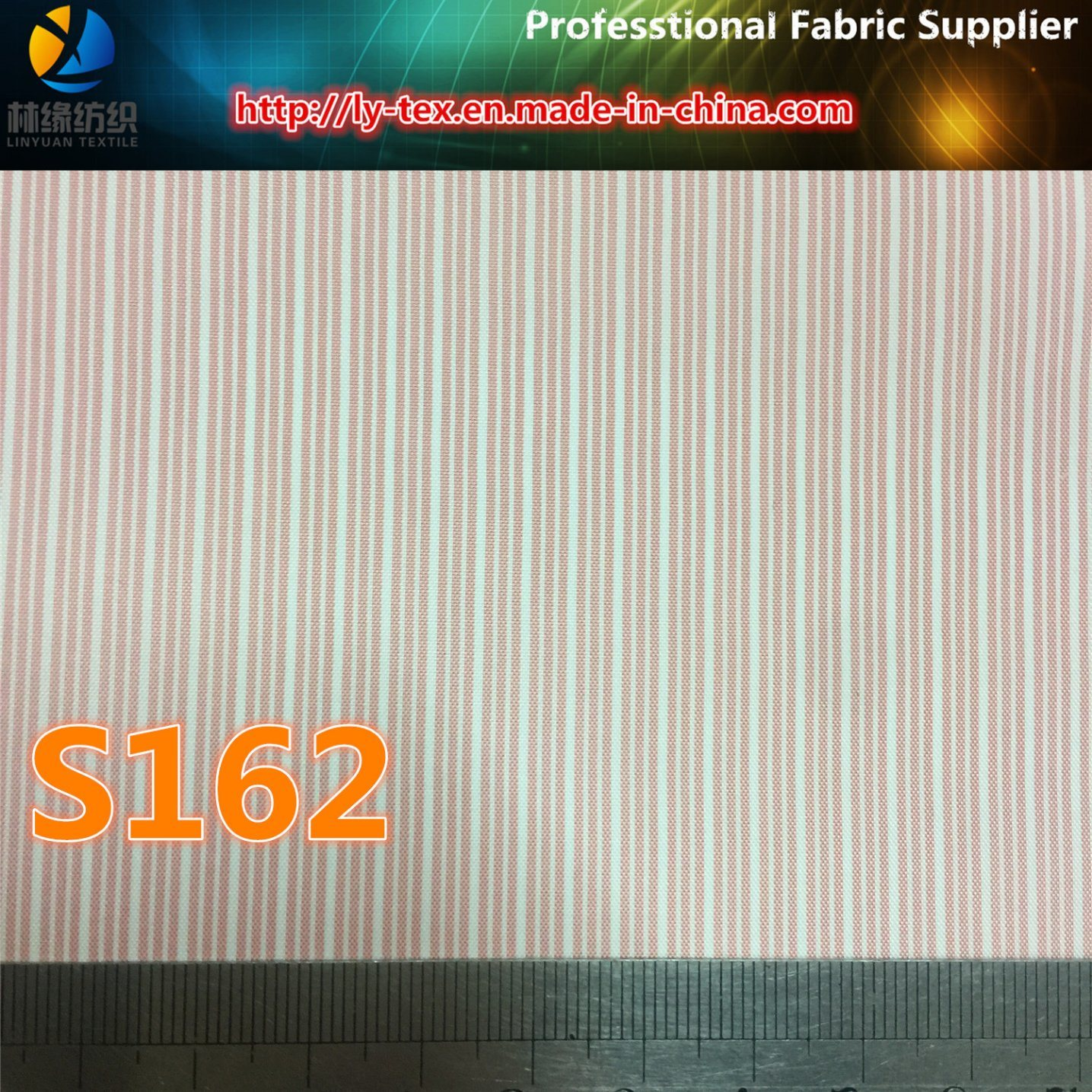 Suit Sleeve Lining in Yarn Dyed Stripe Fabric for Garment (S162.182) pictures & photos