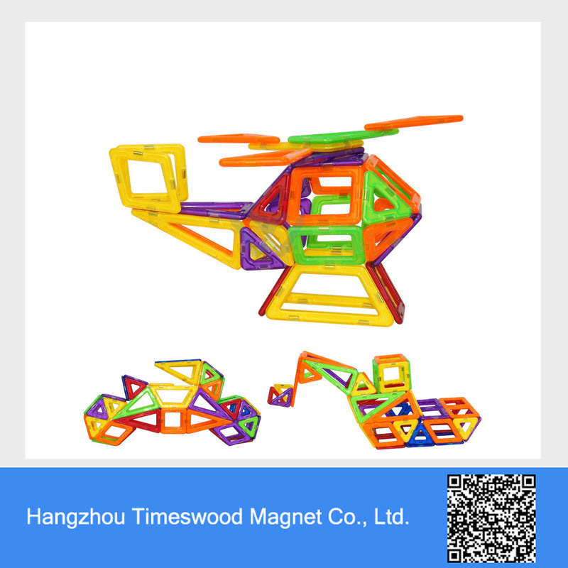 Self-Assembly Magnetic Toy Set for Kids
