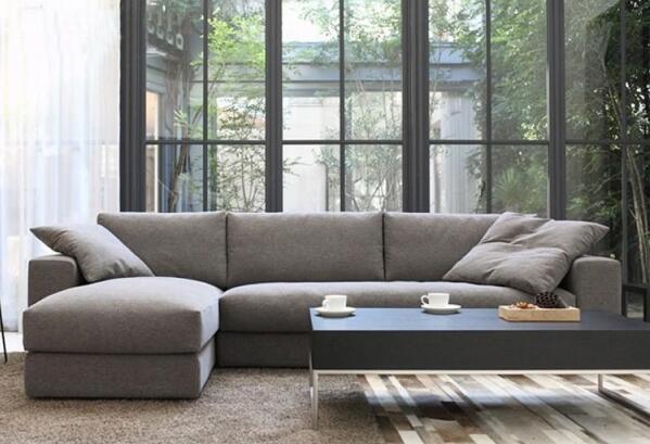 [Hot Item] Living Room Furniture Home Goods L Type Sofa Set Wooden  Furniture Designs Big American Style Sofa