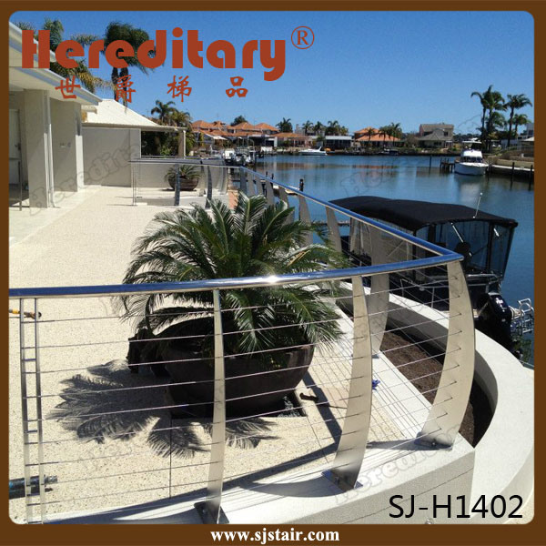 DIY Stainless Steel Cable Railing for Balcony and Deck (SJ-S066) pictures & photos