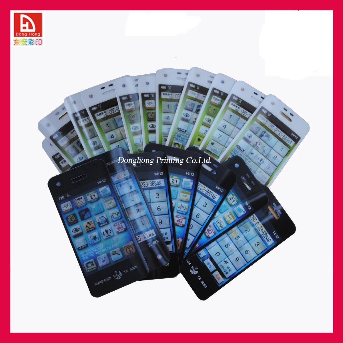 Hot item oem 3d lenticular sticker dhn1044