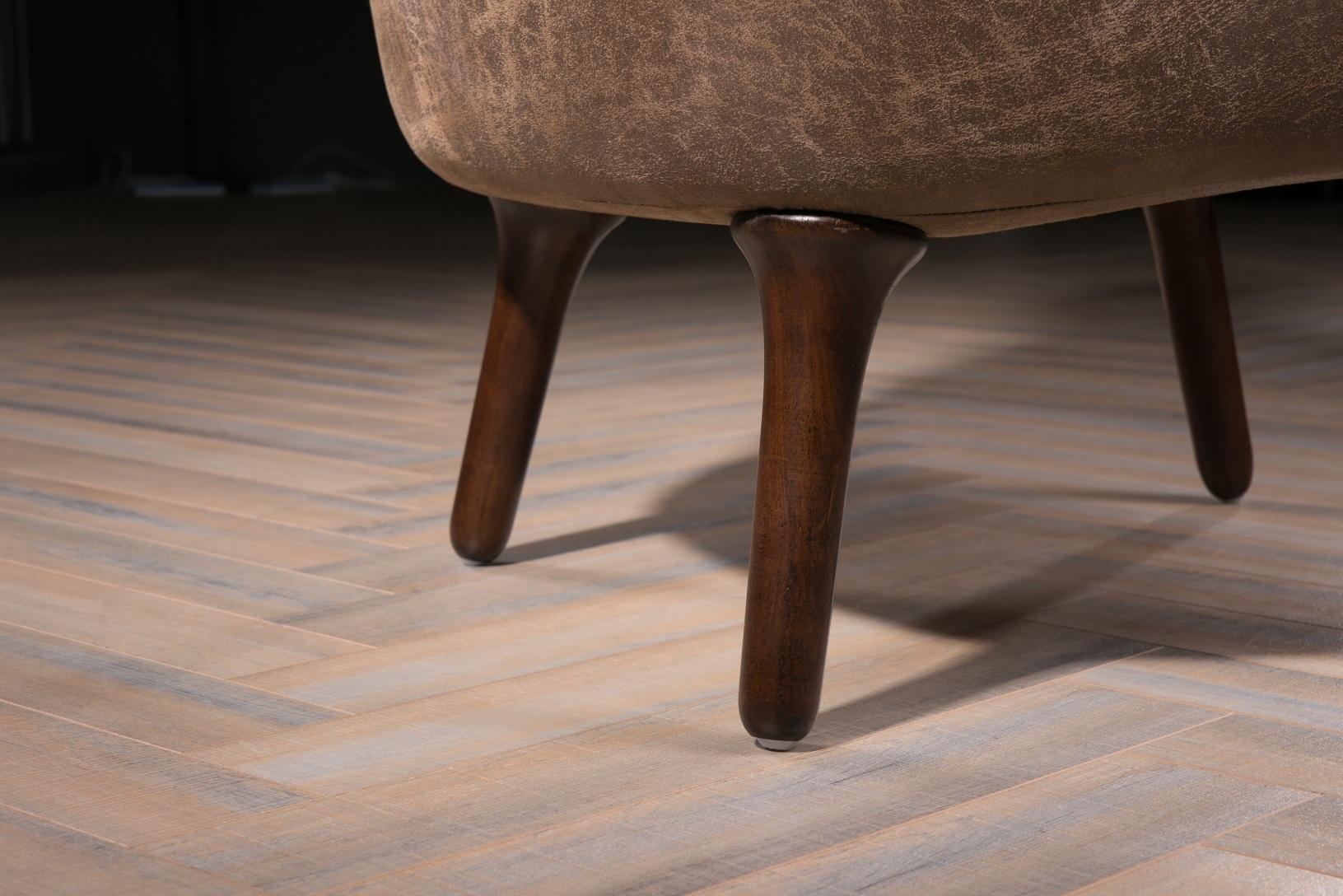 Fantastic China High Density Sponge Brown Color Replica Ro Lounge Ncnpc Chair Design For Home Ncnpcorg