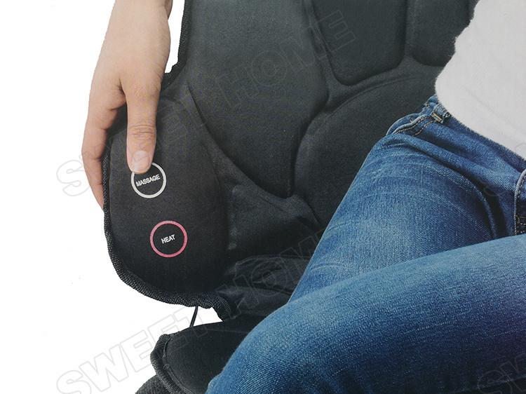 Electric Car Seat Vibrator Shiatsu Back Massager