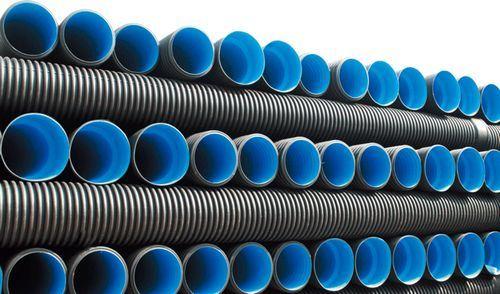 China large diameter plastic drain pipe corrugated hdpe pipe