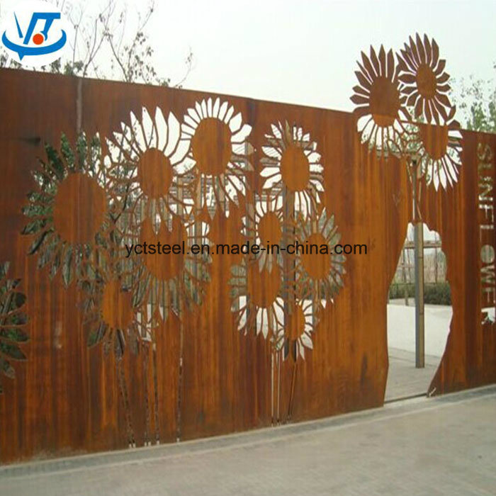 China High Quality Weathering Corten A Steel Plate 09cupcrni A
