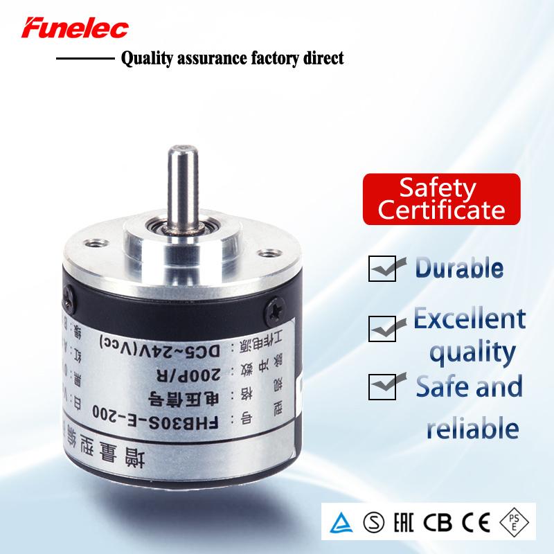 China Diameter 30mm Miniature Rotary Encoder Incremental