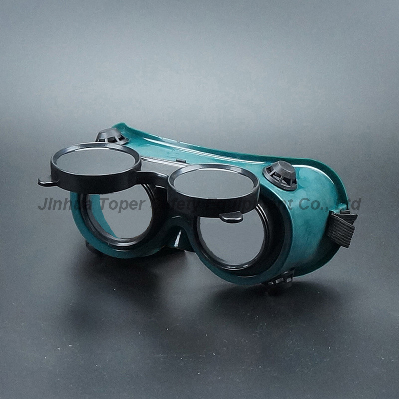 Flip-Up Welding Goggles with 50mm Lenses Welding Welder Glasses Eye Protection