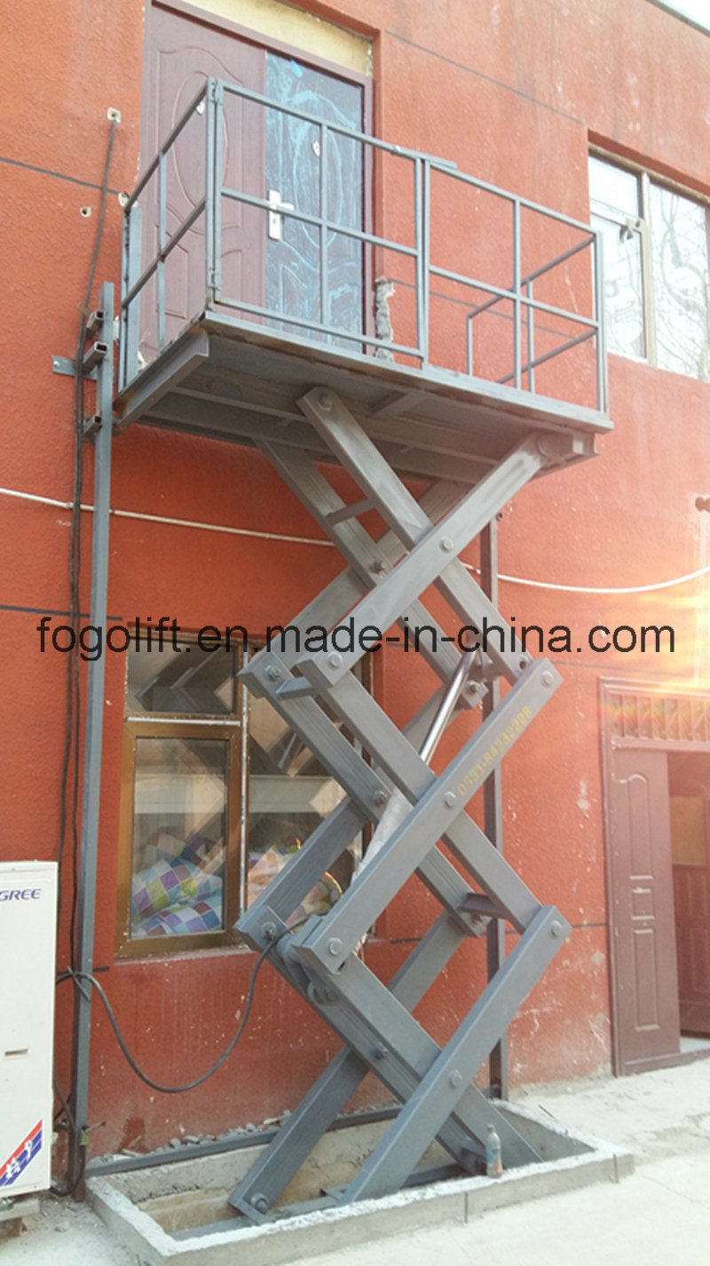 Electric Hydraulic Heavy Duty Freight Elevator pictures & photos