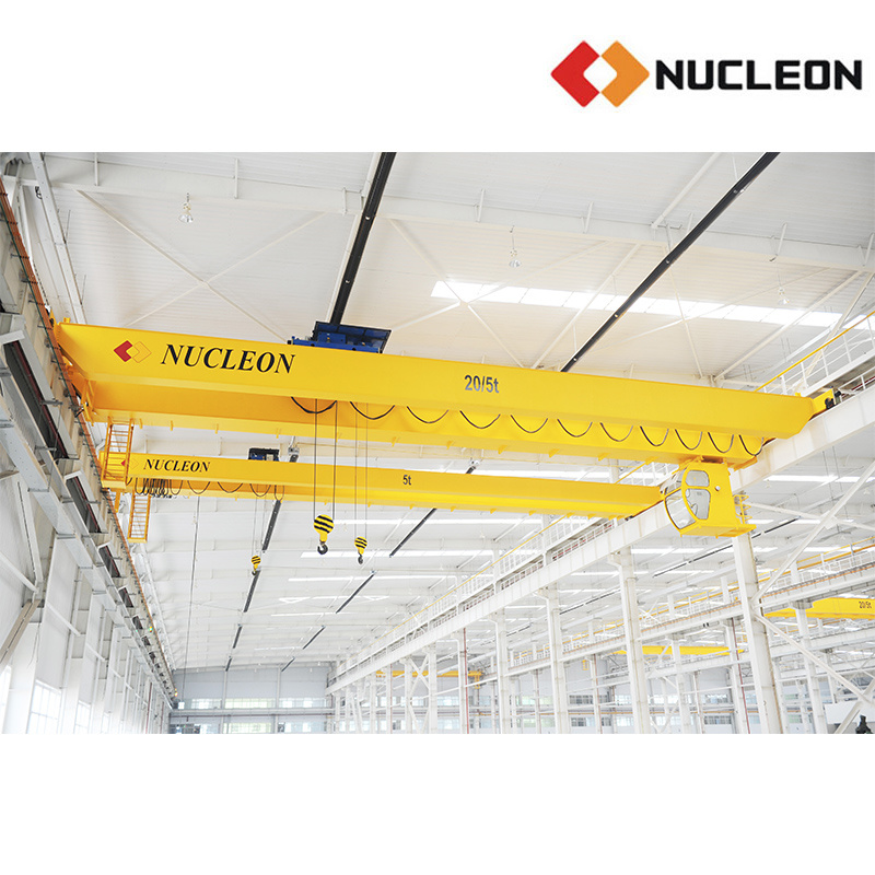 Nlh Mobile Double Girder Bridge Crane 5 Ton