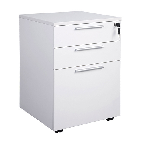 China 3 Drawer Under Desk Mobile Pedestal