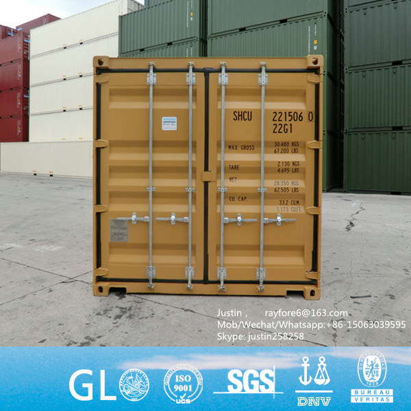 China 20FT High Quanlity New Cheap ISO Storage Dangerous Goods