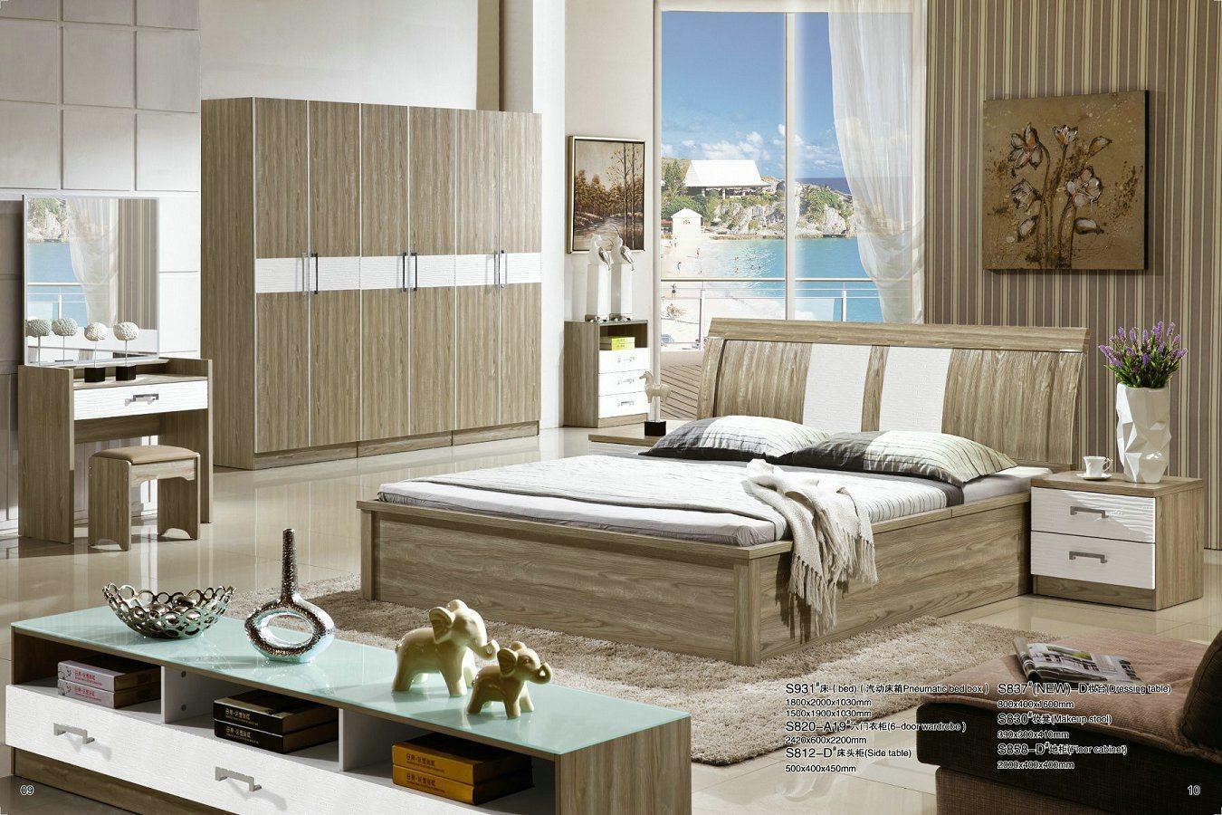 [Hot Item] Modern Home Furniture Six Door Wardrobe