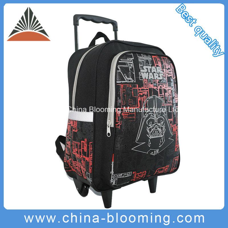 Hot Item Students Rolling Backpack Star Wars Trolley Wheeled School Bag
