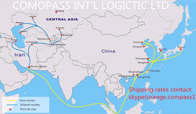 Xiamen China Map.Shipping Sea Air Freight From Shenzhen Guangzhou Shanghai Ningbo