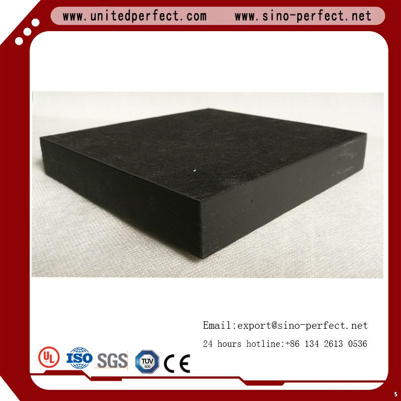 China Hot Sale Fiber Glass Black Ceiling Tileacoustical Fiberglass