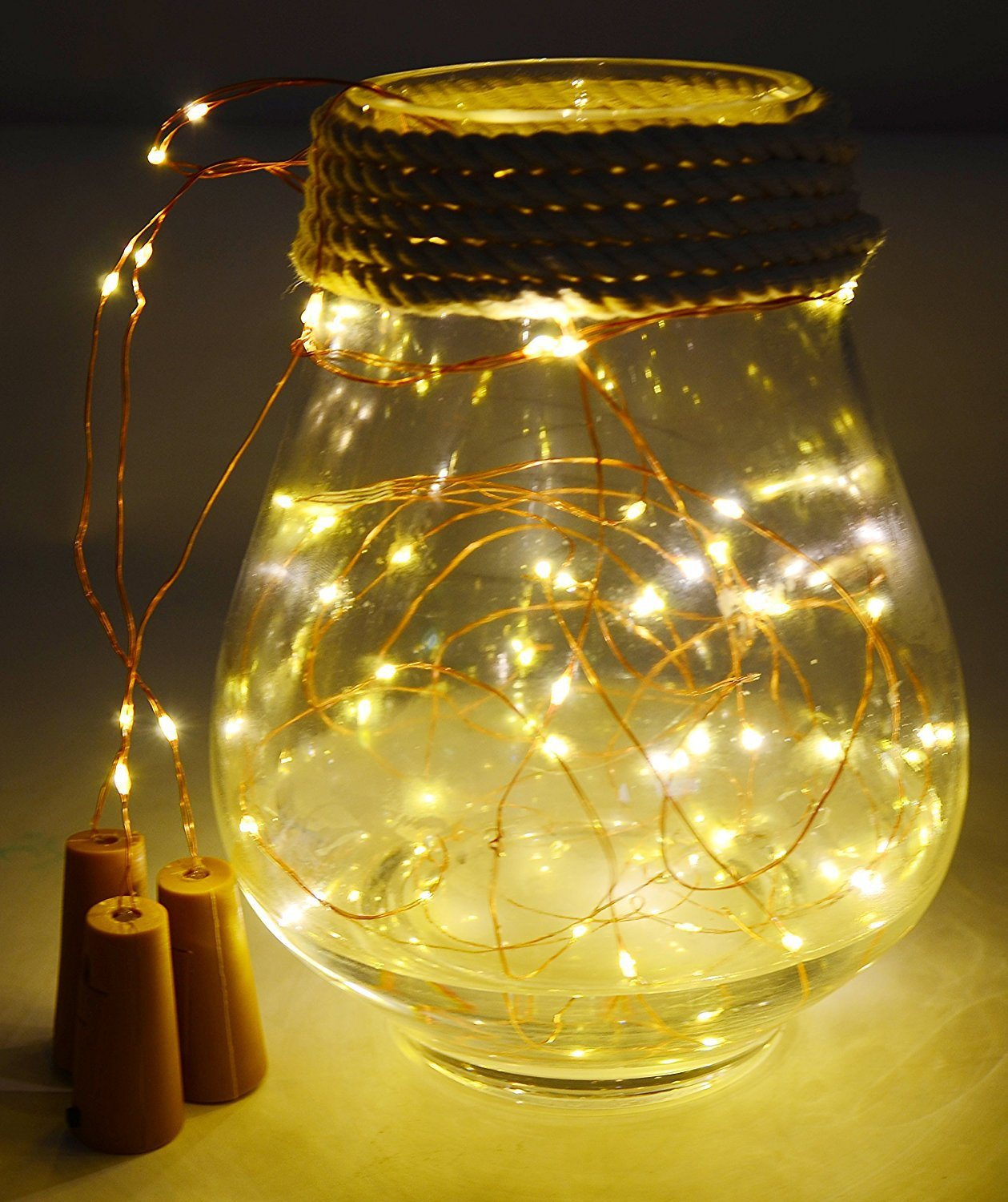 Micro Christmas Lights.Hot Item Micro Lr44 Ag13 Battery Operated Led String Lights Wine Bottle 10 Led Christmas Lights