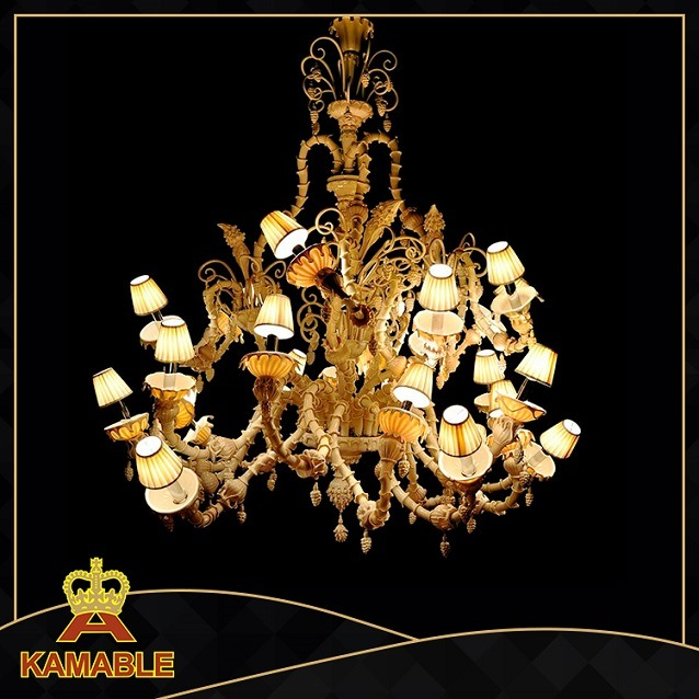Top Quality Modern Glass Luxury Large Hotel Chandeliers (ka888)
